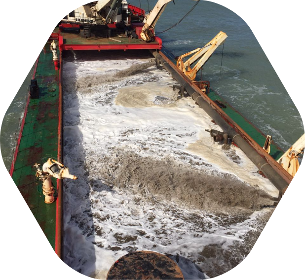 Construction and dredging